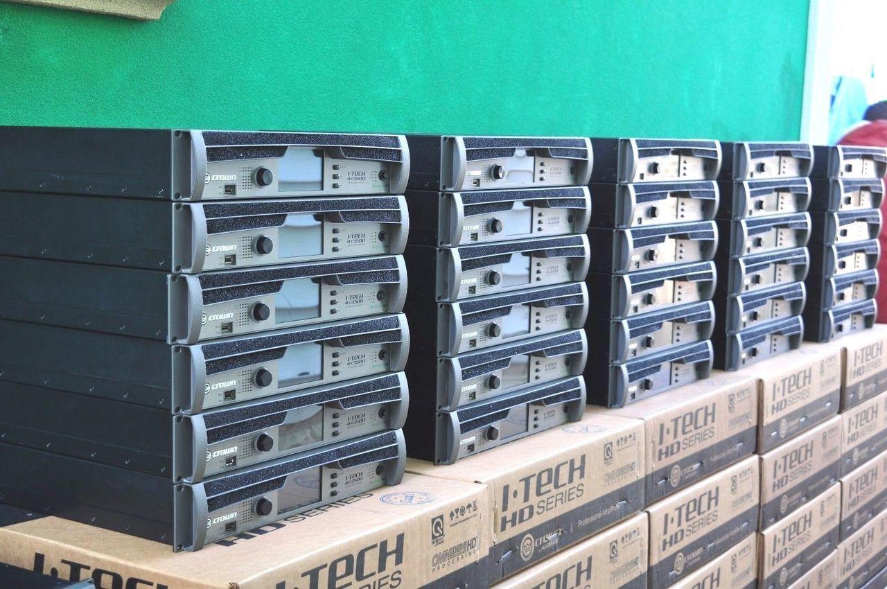 Crown ITECH 4x3500HD AMPLIFIER *ONE* 1 Year Manufacture Warranty ...