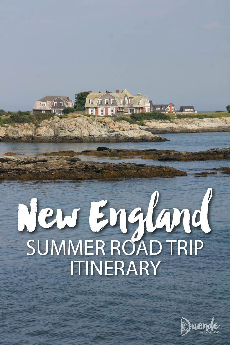 Your New England Summer Road Trip Itinerary