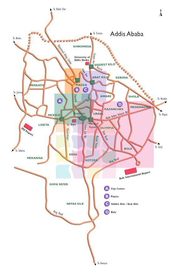 Pin by Fitse Gelaye on Maps of Addis Ababa | Map, Ethiopia, Addis Ababa