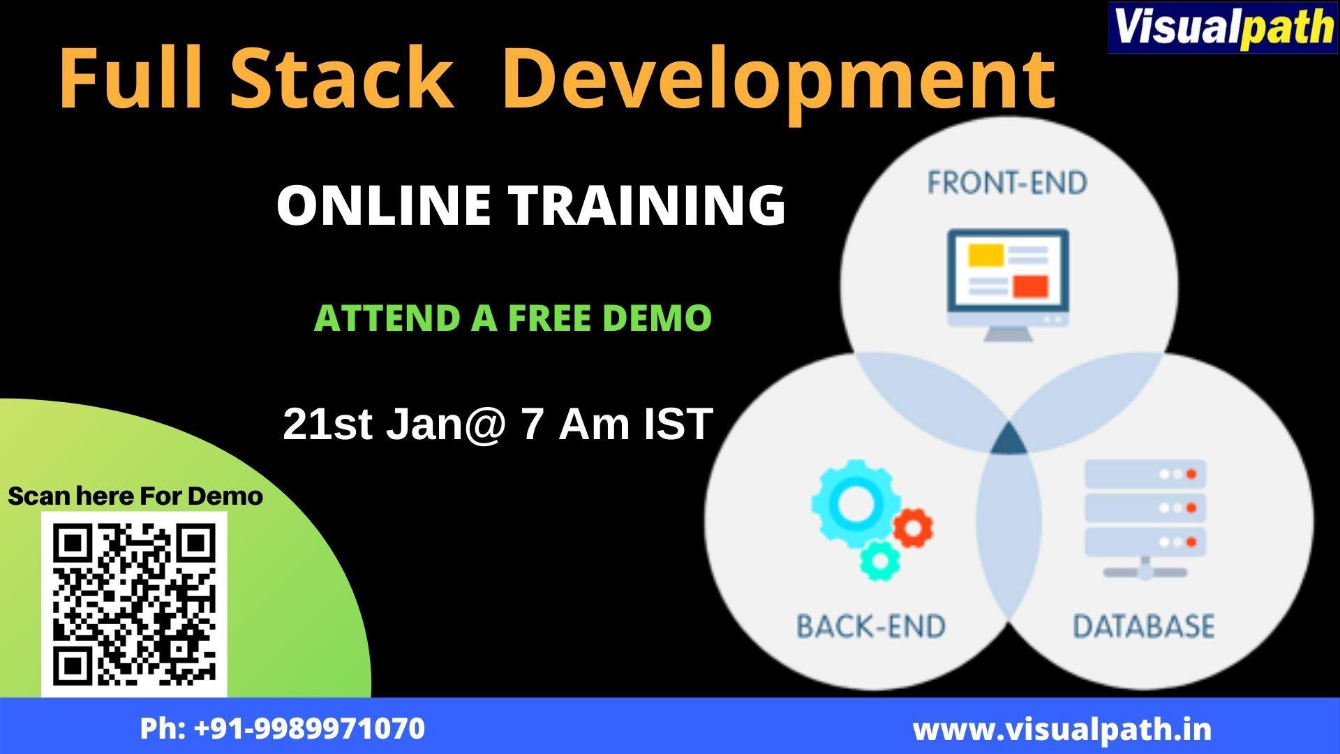 Visualpath_IT is the best Fullstack training institute
