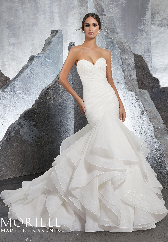 Karina Wedding Dress Morilee Bridal Dresses Sweetheart Wedding Gown Wedding Dress Organza [ 2630 x 1834 Pixel ]