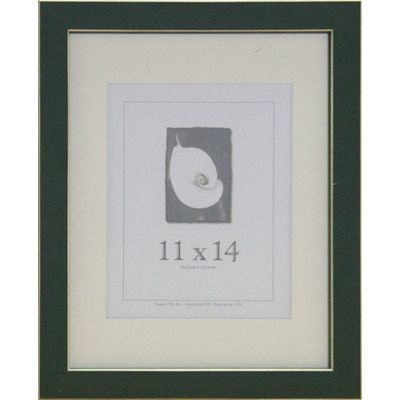 Frame Usa Clean Cut Picture Frame Finish Green Size 11 X 14 Picture Frame Sizes Frame Sizes And Products