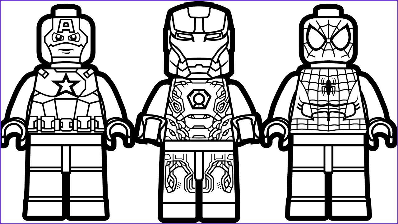 Lego Spiderman Coloring Pages Coloringsuite In 2020 Avengers Coloring Lego Coloring Superhero Coloring