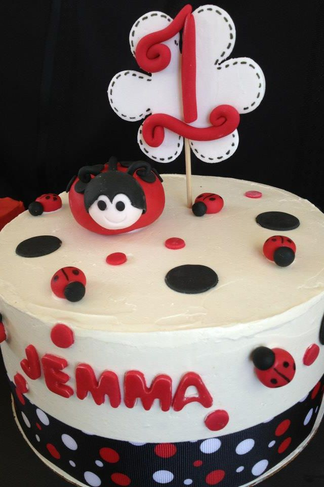 Cool Ladybug Birthday Cake Ladybug Birthday Lady Bug Birthday Cake Funny Birthday Cards Online Aeocydamsfinfo