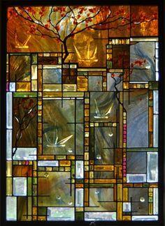 contemporary stained glass window warrenton va pinterest window