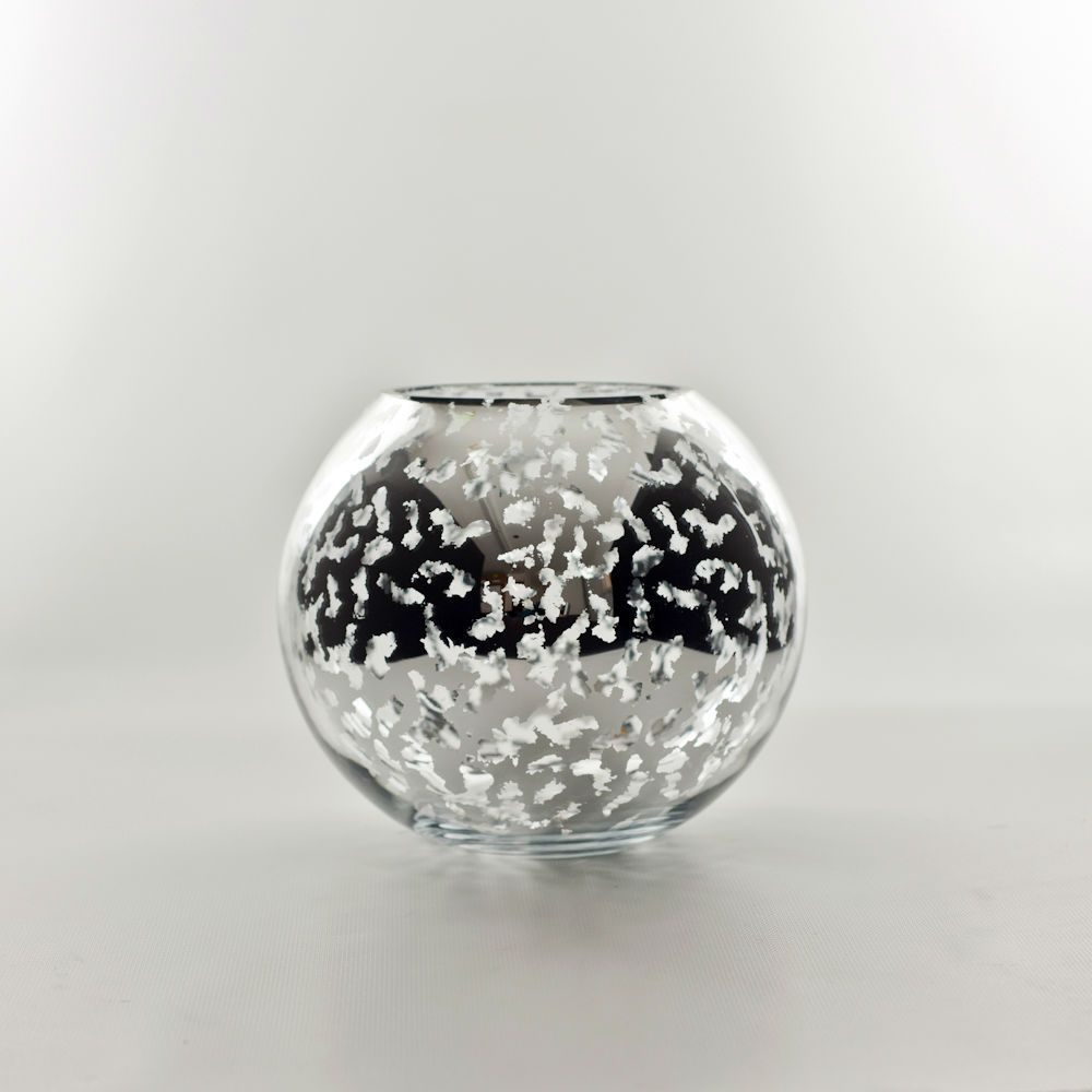 Mercury Glass Sphere Vase Wholesale Flowers Supplies Mercury Glass Vase