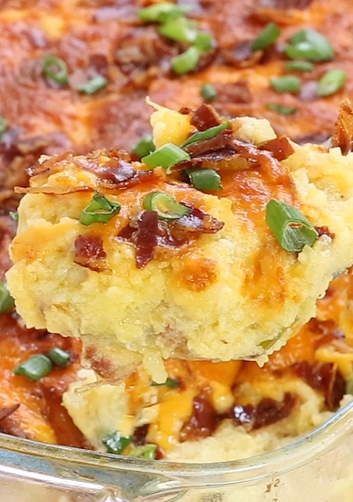 Twice Baked Potato Casserole images