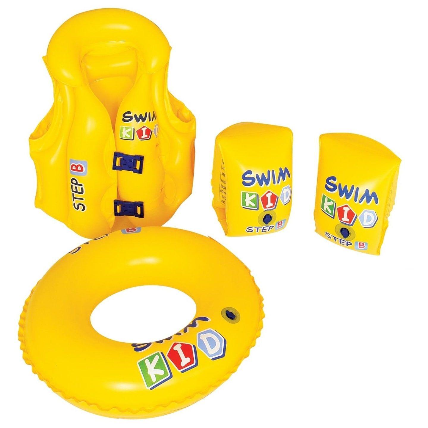 ACSTERB Inflatable Water Flotation Swim Waist Belt Swim Vests and Arm Bands S... Spielzeug für draußen