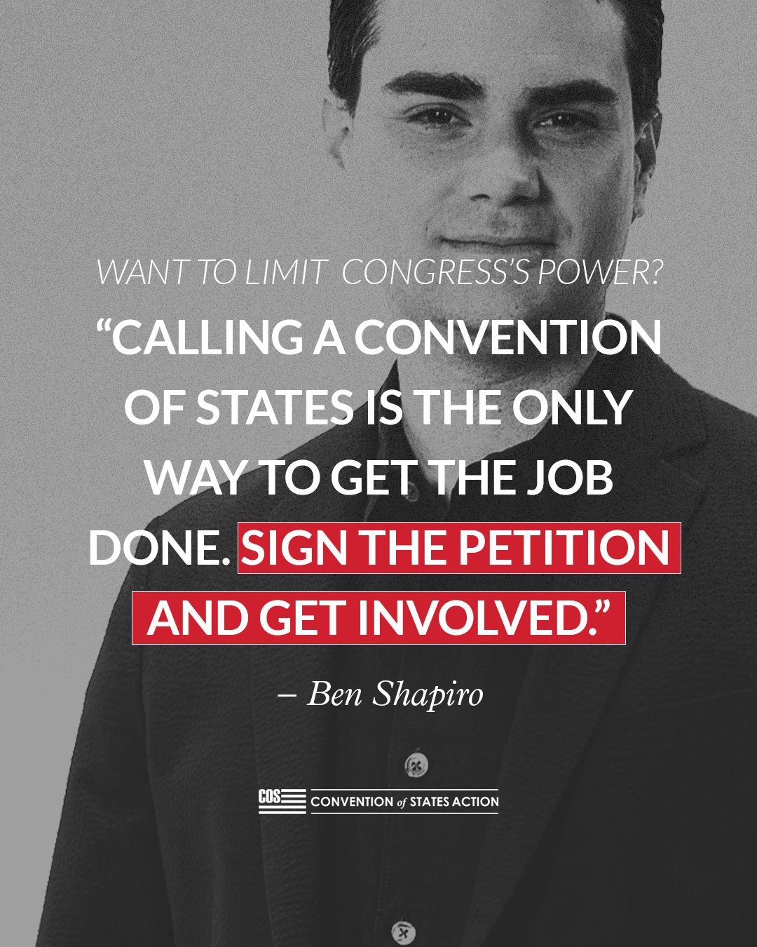 Join Ben Shapiro! in 2020 Convention, Get the job, States