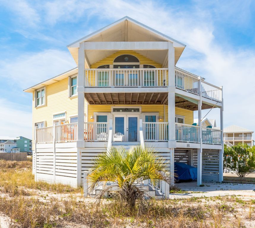 Beach Views Fishing Pet Friendly Paradise Sailor S Cove By Harris Properties Gulf Shores Gulf Shores Vacation Renting A House Beach View