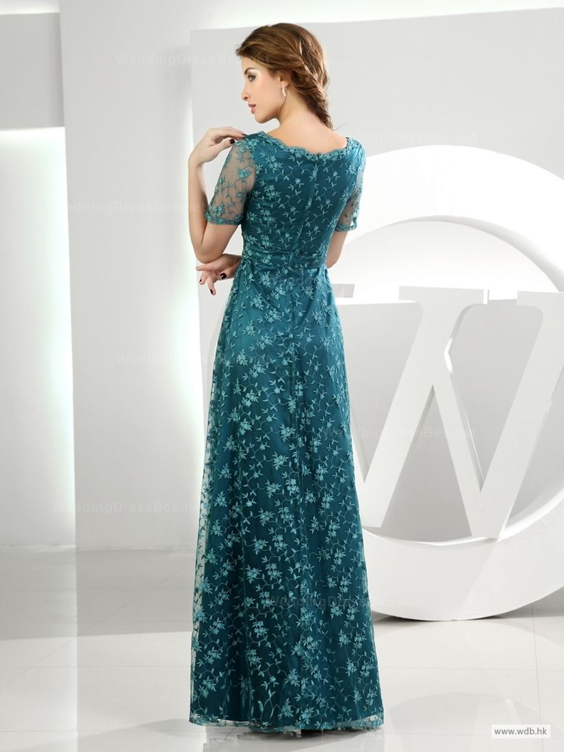 short bridesmaid dresses Fabulous Scoop Lace Overlay Dress $158.98 ...