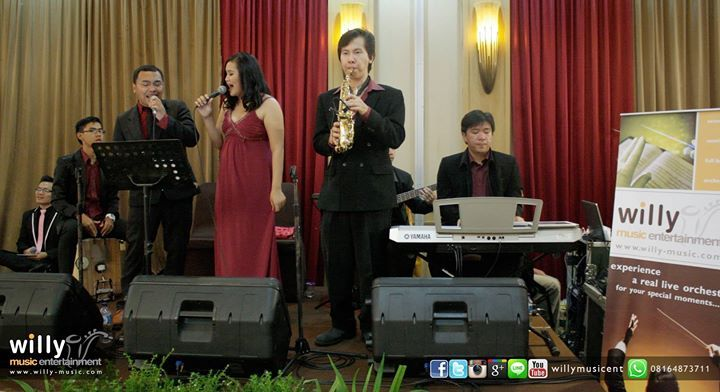 The Wedding of Anton & Ria  #music #entertainment #musicentertainment #musicentertainmentbandung #musicentertainmentjakarta #wedding #weddingmusic #musicforwedding #event #eventmusic #musicforevent #party #eventparty #eventmusic #bandung #musicbandung #weddingbandung #bestmusic #pagarayu #eventorganizer #acoustic #band #semiband #fullband #semiorchestra #chamber #orchestra #pop #song #songs