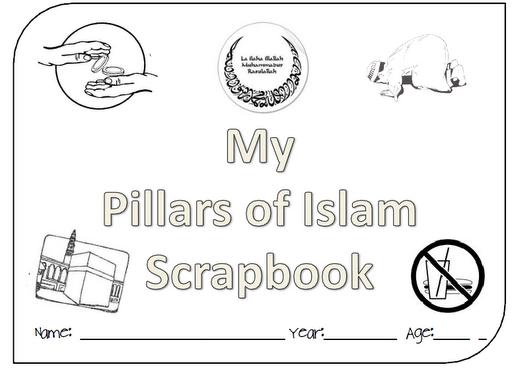 stunningly good pillars of islam lap book just wow islamic kids activities pinterest. Black Bedroom Furniture Sets. Home Design Ideas