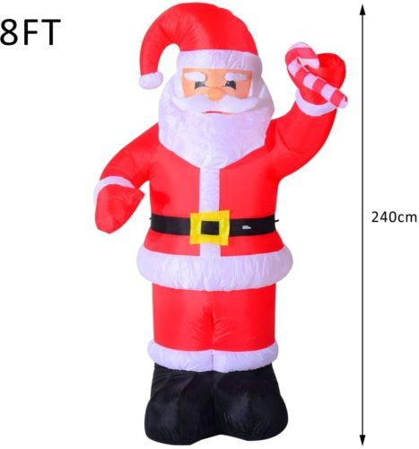 #Inflatable #christmas santa claus led large balcony decoration #lights xmas deco,  View more on the LINK: 	http://www.zeppy.io/product/gb/2/201705586131/