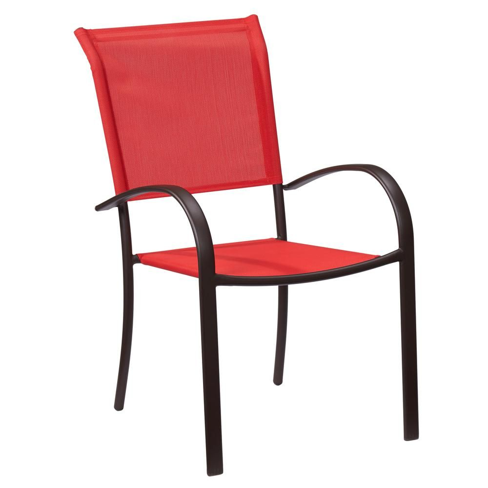 Stackable Colored Outdoor Dining Chairs