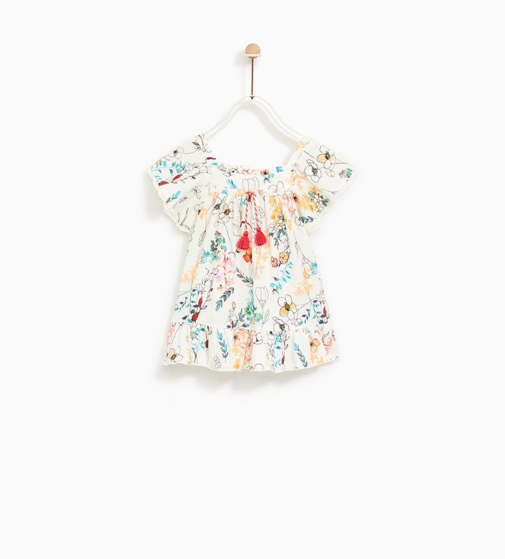 43900d5b93 FLORAL PRINT DRESS-NEW IN-BABY GIRL | 3 months - 4 years-KIDS | ZARA ...