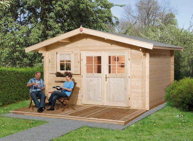 Gartenhaus »136 Gr.1«, BxT 460x370 cm, inkl. Fußboden