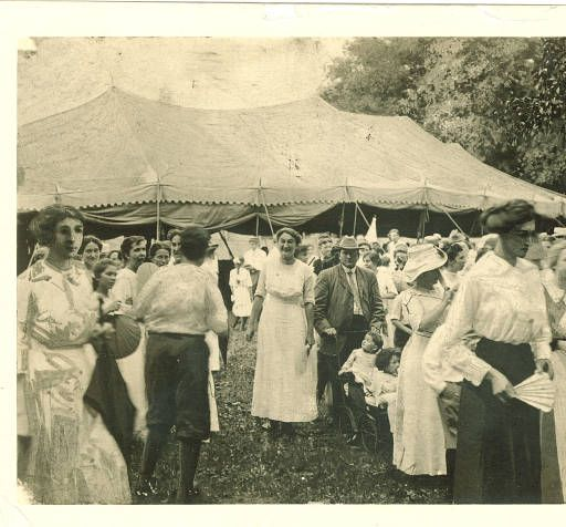 People leaving tent 1910s  Traveling Culture - Circuit Chautauqua in the Twentieth Century  sc 1 st  Pinterest : chautauqua tent - memphite.com