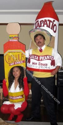 Coolest Homemade Tapatio Vs Cholula Hot Sauce Costumes Costumes
