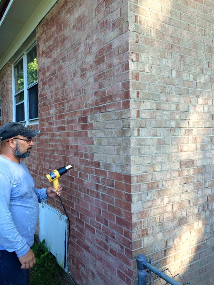 Brick staining technology home pinterest bricks house and curb appeal Outside paint for wood