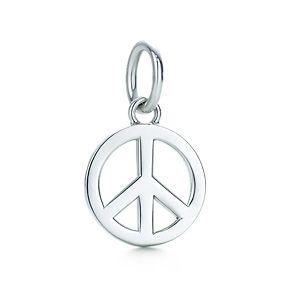 Tiffany Co Peace Sign Charm Peace Sign Charm Peace Sign Peace Charm