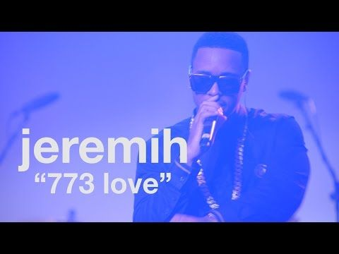 """Live performance: Jeremih, """"773 Love"""" at #uncapped - vitaminwater & FADER TV"""