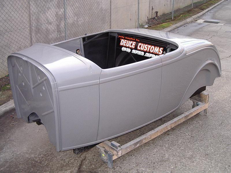 29 ford truck fiberglass body | Deuce Customs - Fiberglass