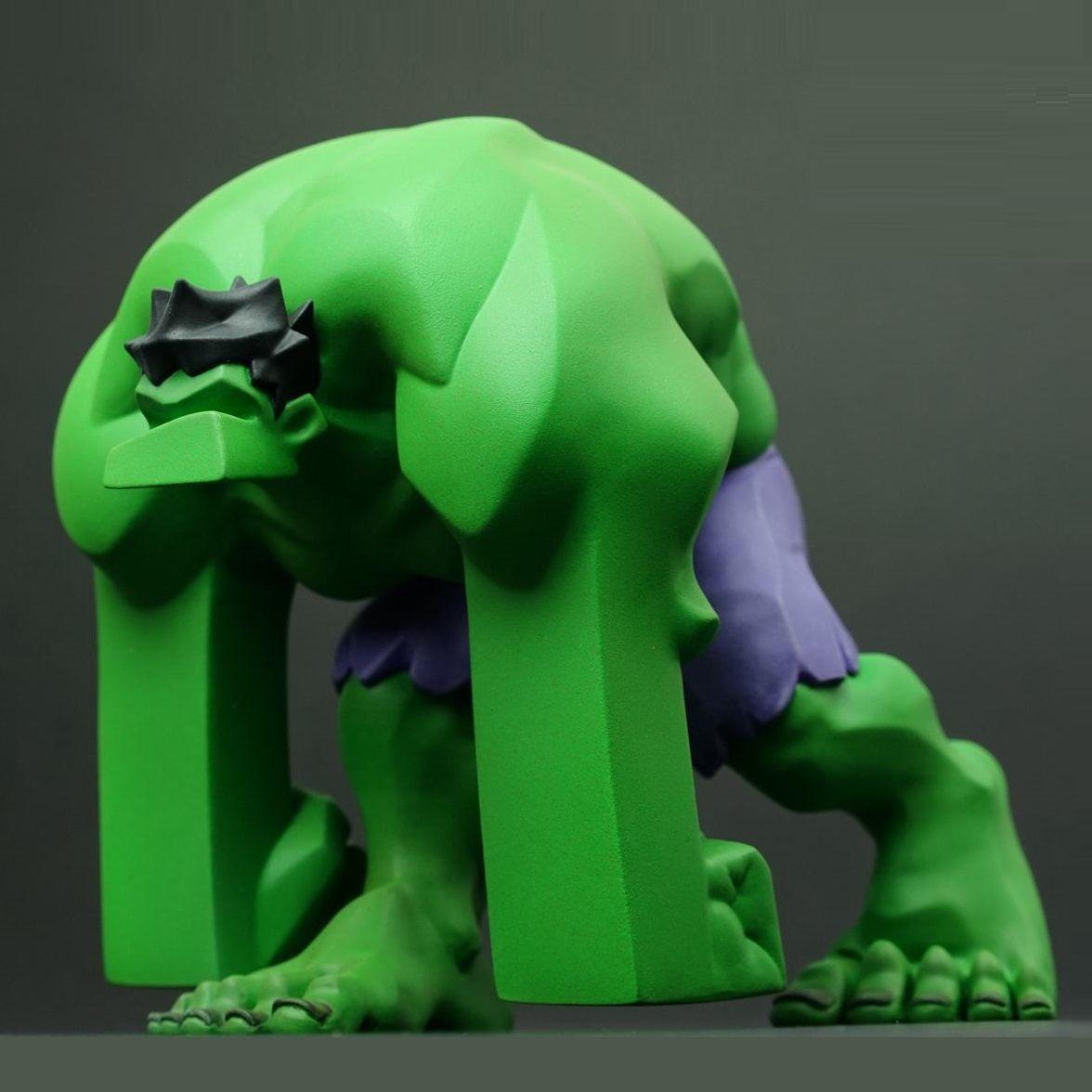 Sneak peek of Devil Planet Green Hulk (artwork by Kang Minjung