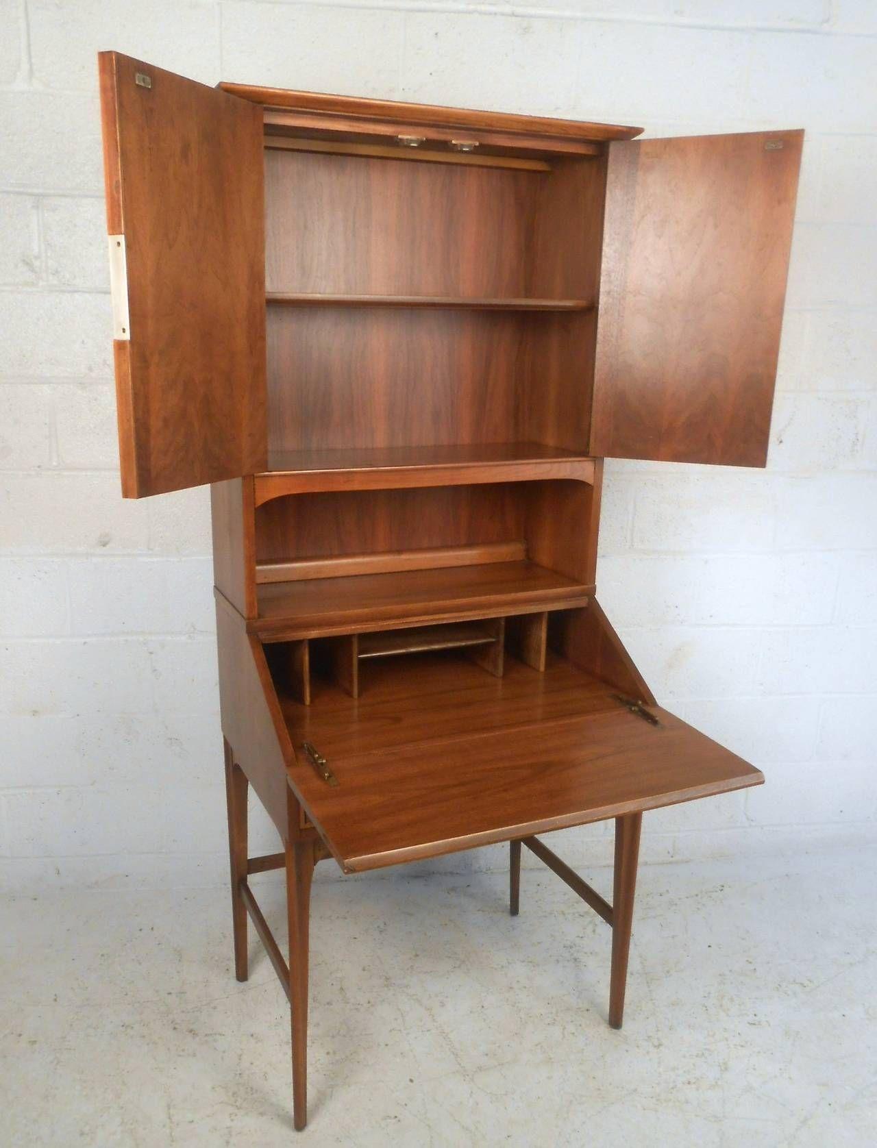 Pin On Secretary Desk Book Case Designs