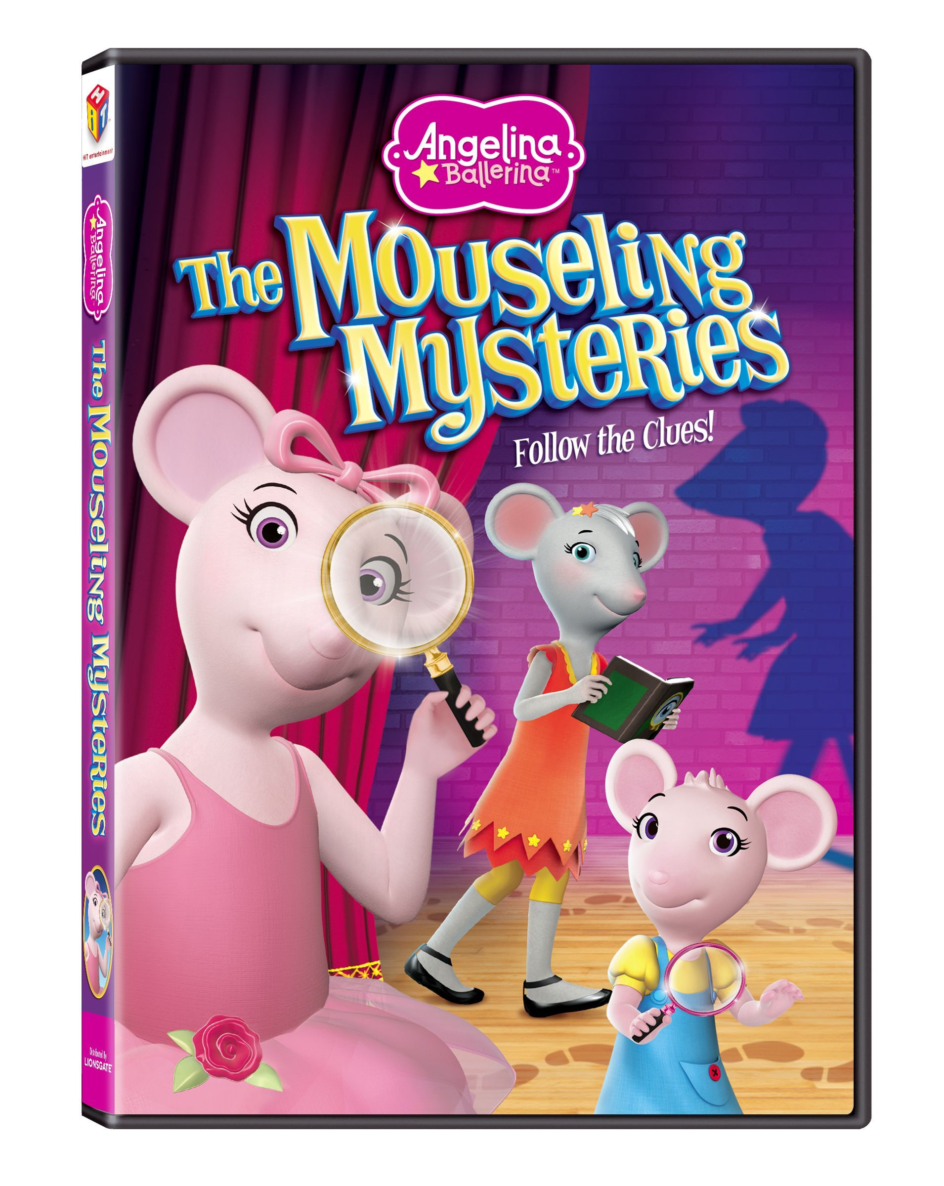 Angelina Ballerina In The Mouseling Mysteries Dvd Review Giveaway Angelina Ballerina Ballerina Mystery