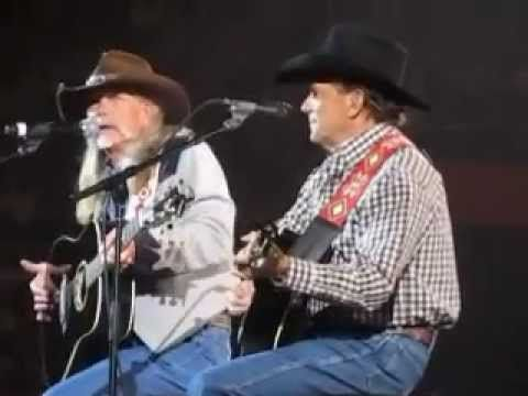 George Strait and Dean Dillon performing  in Knoxville, TN on 03/01/2013