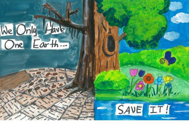 Save Earth Posters for Kids | Earth Day | Earth poster ...