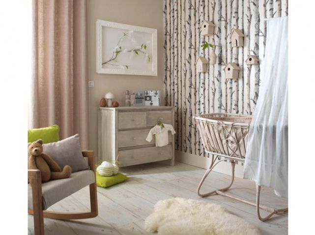 Chambre b b esprit nature little world pinterest - Comment decorer chambre bebe fille ...