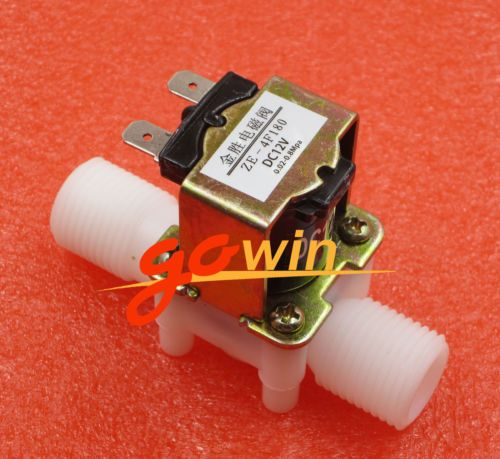 12v Electric Solenoid Valve Magnetic Dc N C Water Air Inlet Flow Switch 1 2 Ebay Valve Inlet Tact Switch