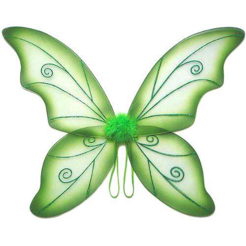 Large Green Wild Fairy Wings 34 In Fairy Wings Costume Fairy Wings Green Fairy Wings