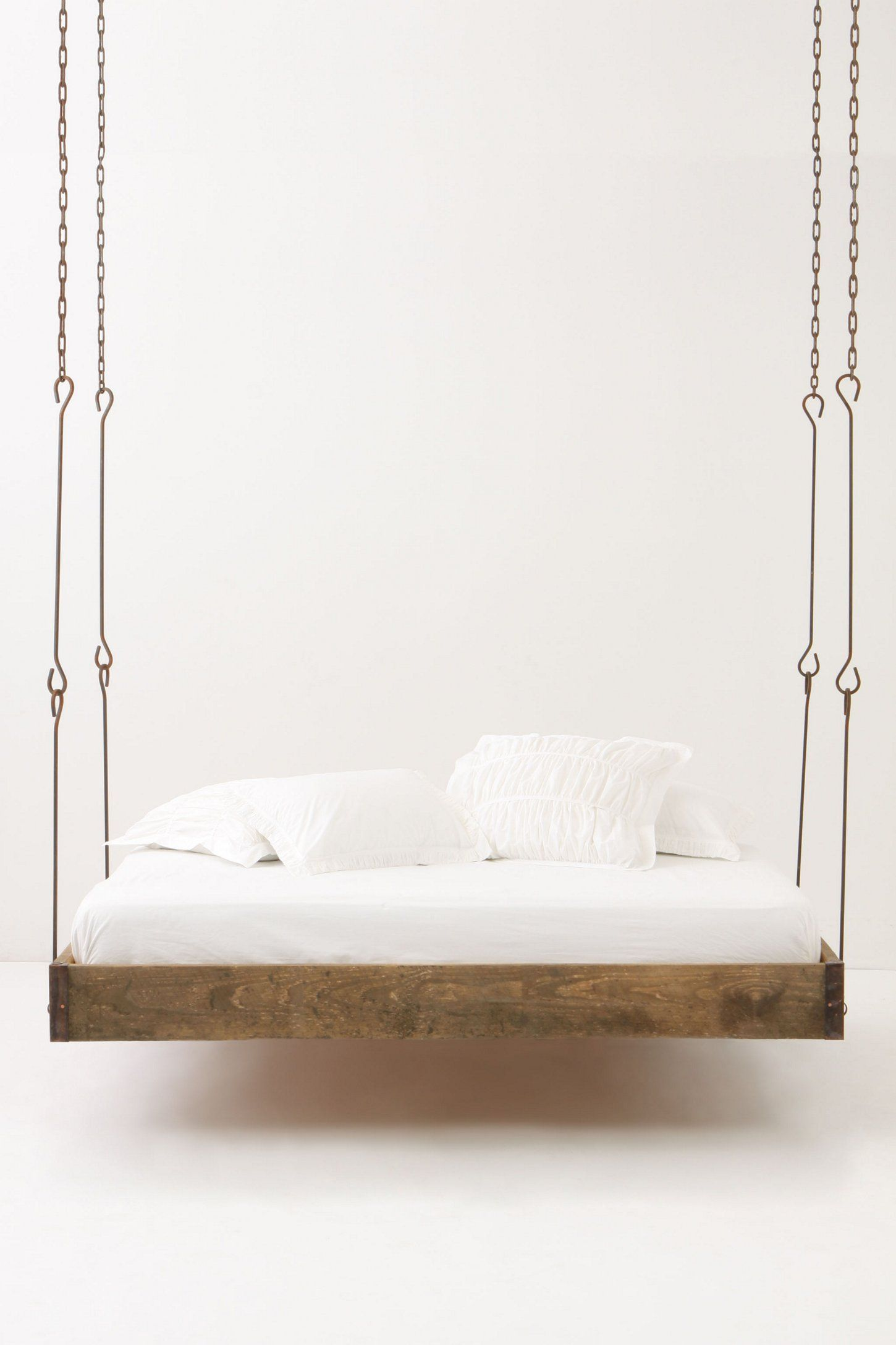 Hanging bed my style pinterest hanging beds beds and log cabins