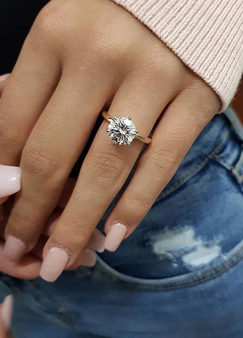 Moissanite Engagement Ring White Gold Ring Leaf Engagement Ring Twig Gold Ring – Fine Jewelry Ideas – Rings