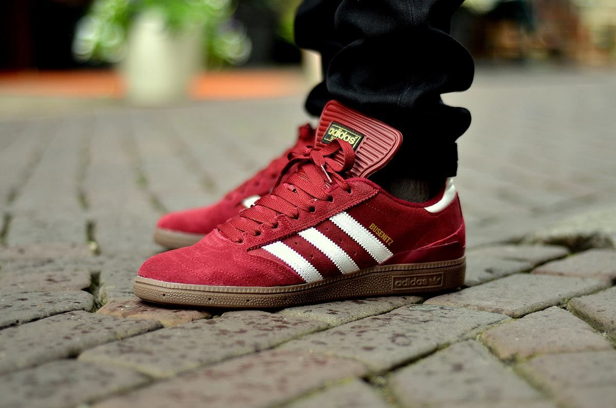 check out 8f625 82d00 Adidas Busenitz - BurgundyGum sneakers a love even for me since 2nd grade  on the soccer field.
