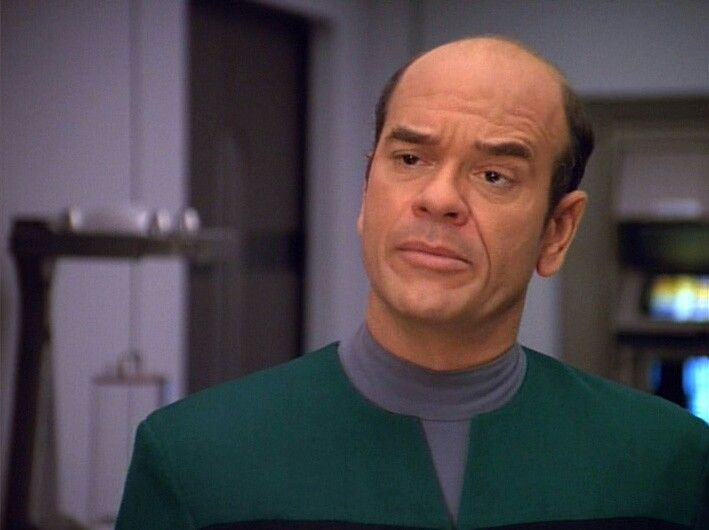 Robert Picardo as The Doctor in Star Trek Voyager | Star ...