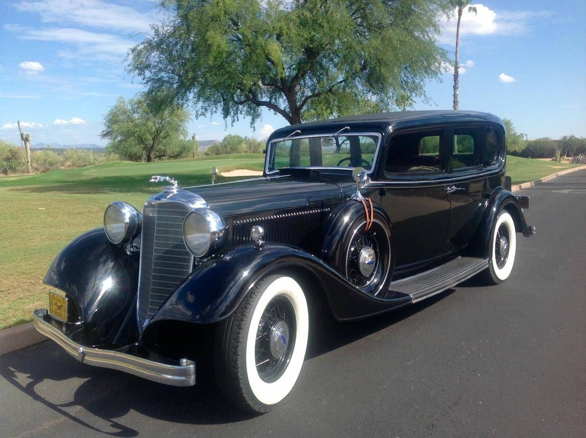 1933 Lincoln KB With Original Tools & Luggage | Lincoln | Pinterest ...