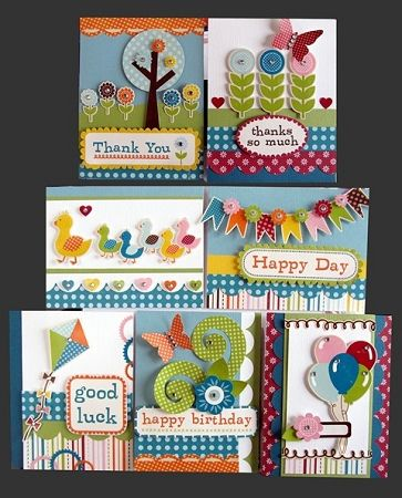 Cute Cards Kims Card Kits With Images Handmade Card Kits
