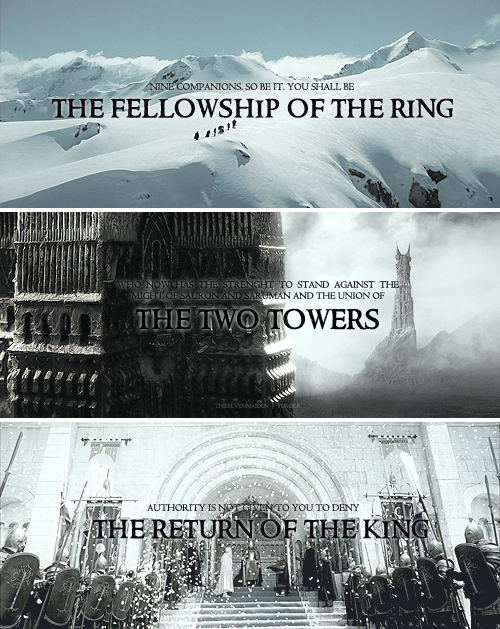 There is only one Lord of the Ring, only one who can bend it to his will. And he does not share power. #lotr