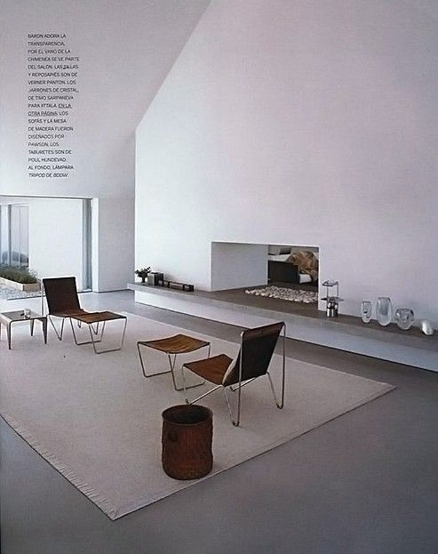 Baron House, Sweden 2005 - by John Pawson - http://www.johnpawson.com/architecture/residential/europe/baronhouse