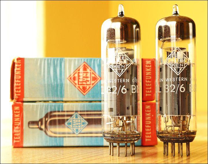 Telefunken ECL82 Tubes   Music   Vacuum tube, Electronic parts, Hifi
