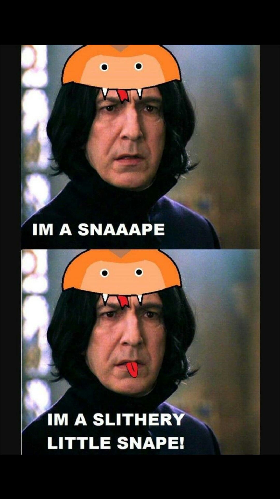 You Have To Watch The Video I M A Snake On Youtube To Get This Harry Potter Cosplay Harry Potter Memes Harry Potter Funny