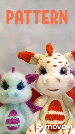 Crochet PATTERN Dragon. Dragon baby Amigurumi toys. Amigurumi patterns The full crochet pattern consists of 20 pages of the detailed, step-by-step description in the pdf  #Amigurumi #baby #Crochet #Dragon #pattern #Patterns #toys