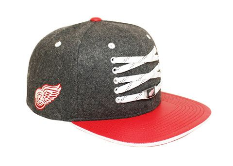 d3562c0e14b Detriot Red Wings  Checked  Snapback