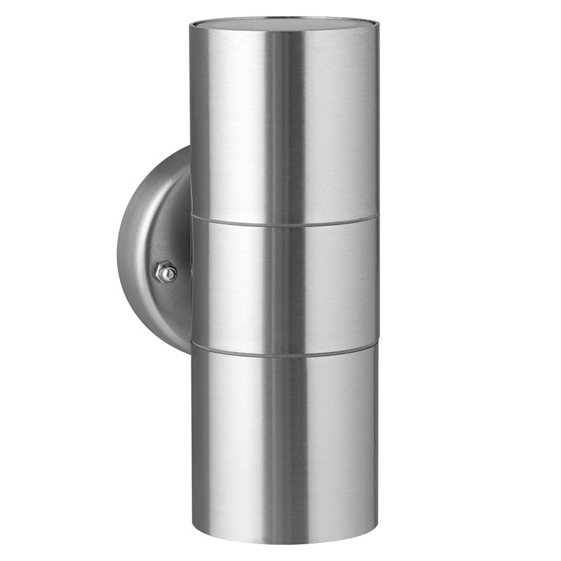 Find arlec stainless steel up down wall light at bunnings warehouse find arlec stainless steel up down wall light at bunnings warehouse visit your local store workwithnaturefo