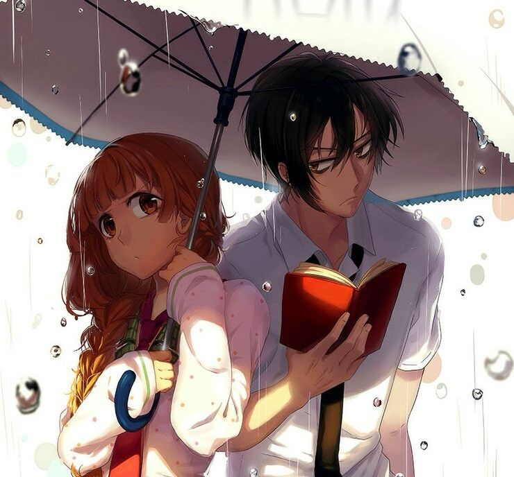 Anime Love Story Anime Love Kawaii Cute Kurdishotaku Art Couple Image أنمي رومانسي صور كاواي كيوت آرت أحبك