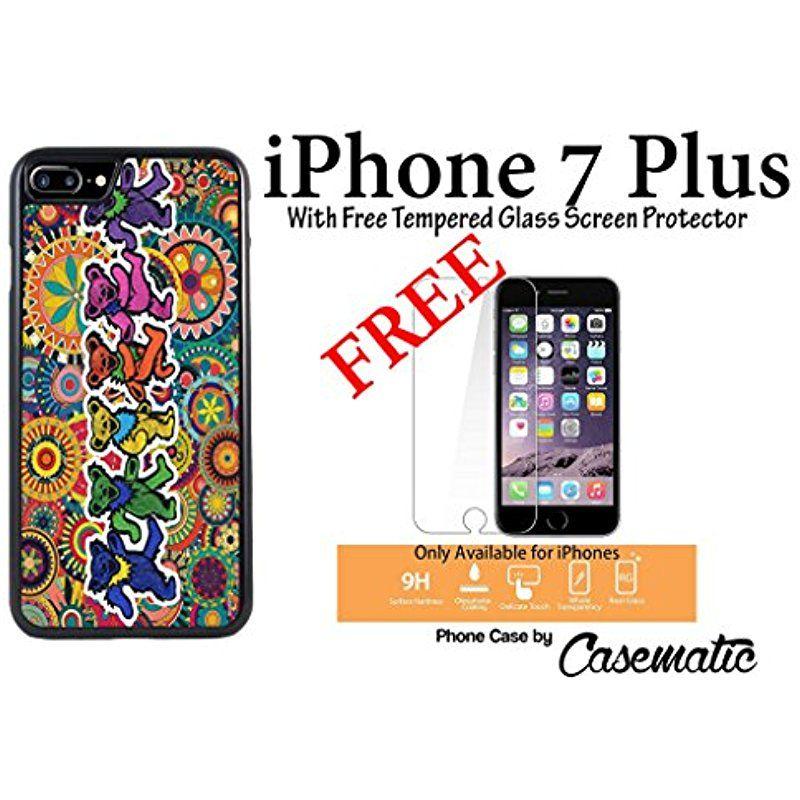 online retailer 8194b 1eac7 iPhone Case Grateful Dead and Dancing Bears Rubber Black Phone Case ...